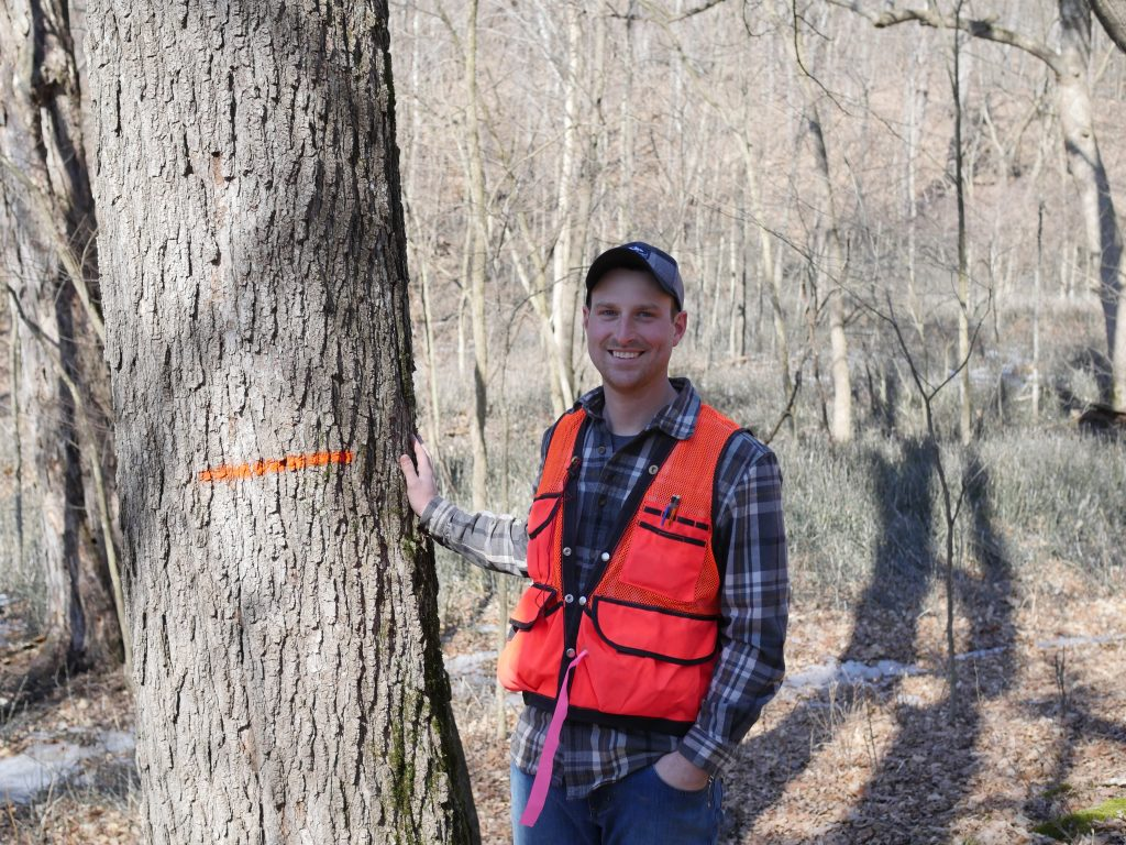 Eric Olson: Certified Forester and Owner of Legacy Forest Management; a Full-Service Forest Management Company Located in Sparta, Wisconsin